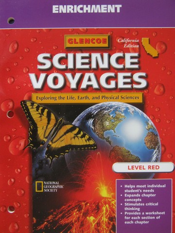 Science Voyages Level Red Enrichment (CA)(P)