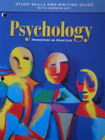 Psychology Principles in Practice Study Skills & Writing (P)