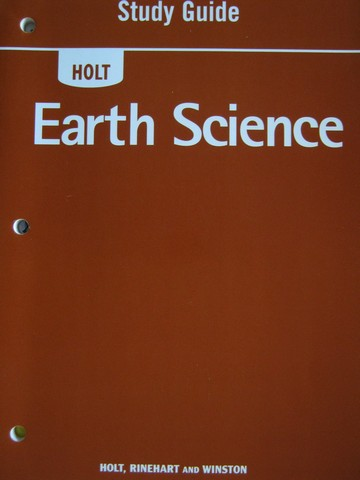 Holt Earth Science Study Guide (P)