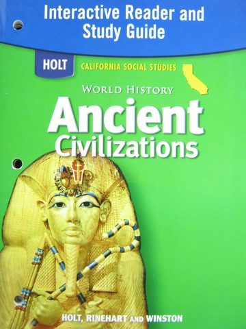 Ancient Civilizations Interactive Reader & Study Guide (CA)(P)