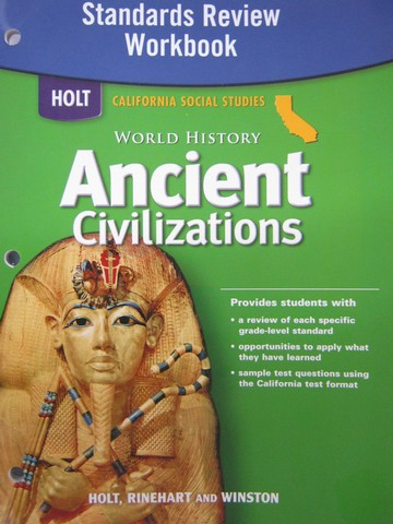 Ancient Civilizations Standards Review Workbook (CA)(P)