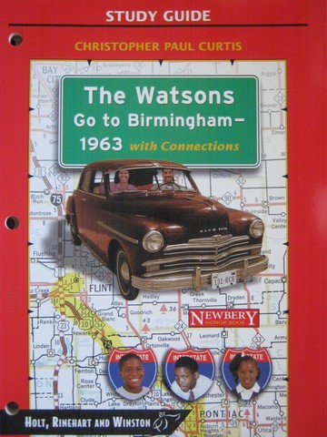 Study Guide The Watsons Go to Birmingham - 1963 with (P)
