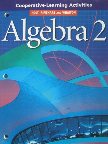 Algebra 2 Cooperative Learning Activities (P)