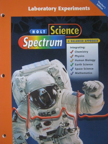 Science Spectrum A Balanced Approach Lab Experiments (TE)(P)