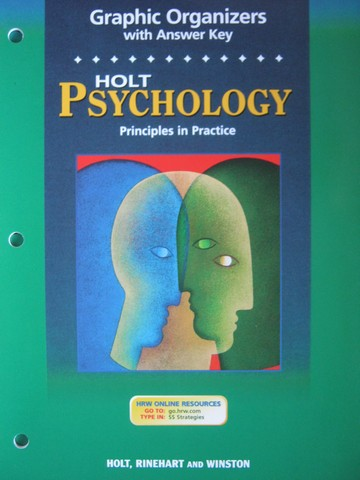 Psychology Principles in Practice Graphic Organizers (P)