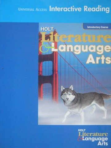 Holt Literature & Language Arts Intro Interactive Reading (P)