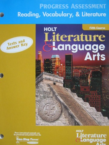 Reading Vocabulary & Literature 5th Course (P)