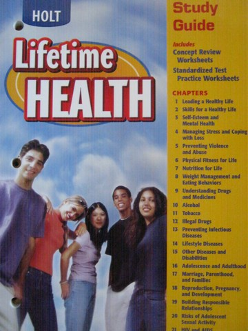 Lifetime Health Study Guide Workbook (P) [0030651913] - $6 95 : K-12