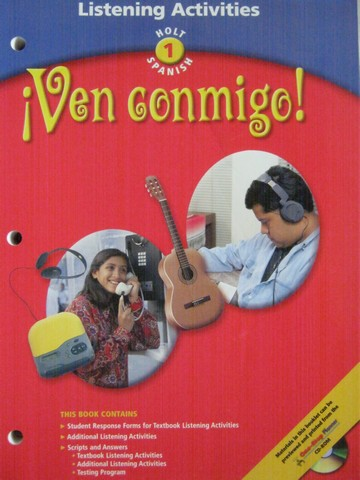 Ven conmigo! 1 Listening Activities (P) by Donaho, Miller, Todd