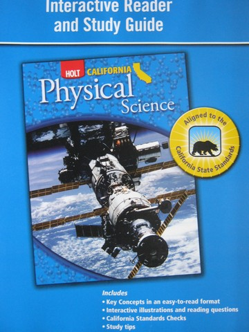 California Physical Science Interactive Reader & Study Guide (P)