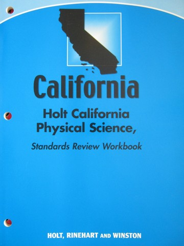 California Physical Science Standards Review Workbook (P)