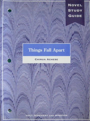 Novel Study Guide Things Fall Apart (P) by Richard Cohen