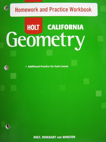 Statistic homework help with geometry holt