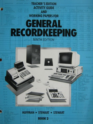 General Recordkeeping 9e Book 2 Activity Guide TE (TE)(P)