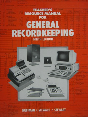 General Recordkeeping 9e Teacher's Resource Manual (TE)(P)