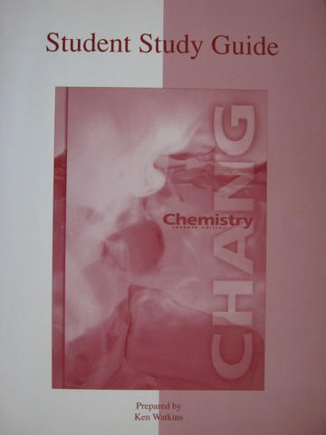 Chemistry 7th Edition Student Study Guide (P) by Watkins