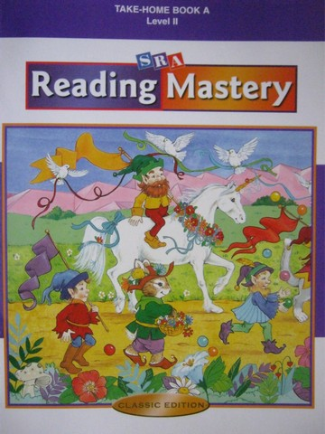 Reading Mastery 2 Classic Edition Take-Home Book A (P)