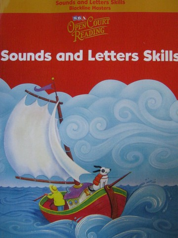SRA Open Court Reading K Sounds & Letters Skills BLM (P)
