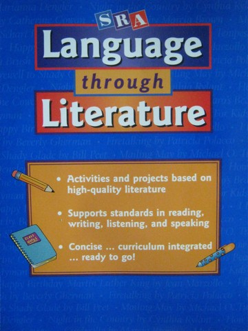 SRA Language Through Literature 3 (P) by Terry Dodds