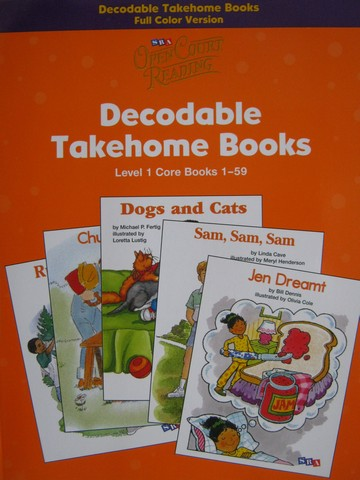SRA Open Court Reading 1 Decodable Takehome Core 1-59 (P)
