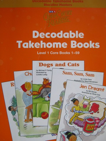 SRA Open Court Reading 1 Decodable Takehome Core 1-59 BLM (P)