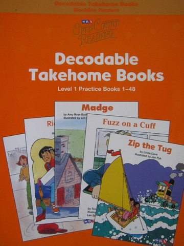 SRA Open Court Reading 1 Decodable Takehome Practice 1-48 BLM(P)