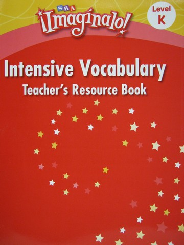 SRA Imaginalo! K Intensive Vocabulary TRB (TE)(P)
