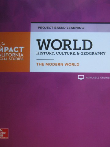 World History Culture & Geography The Modern World Project (P)