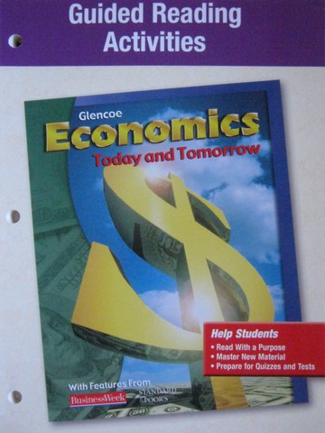 Economics Today & Tomorrow Guided Reading Activities (P)