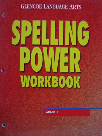 Spelling Power 7 Workbook (P) - Click Image to Close