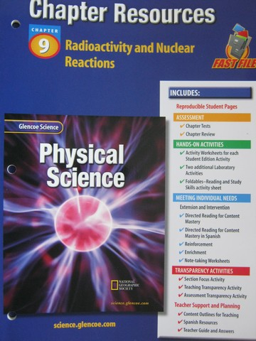 Glencoe Physical Science Chapter Resources 6 Thermal Energy (P ...