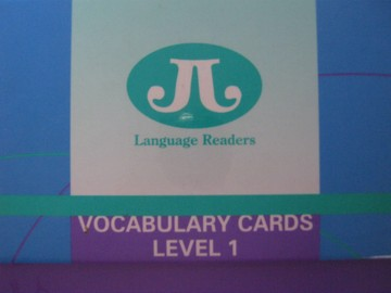 Language Readers Level 1 Vocabulary Cards (Box)