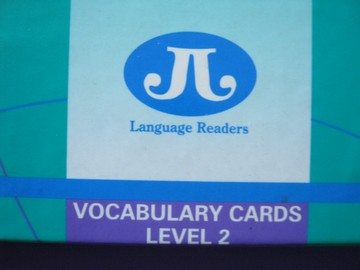 Language Reader Level 2 Vocabulary Cards (Box)