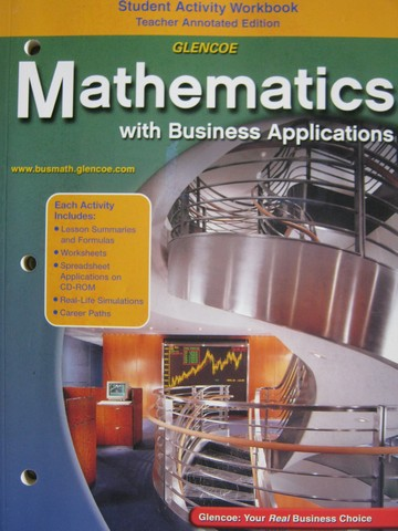 Mathematics with Business Applications 5e Workbook TAE (TE)(P)