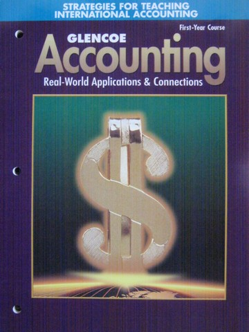 Accounting 1st-Year Course 5e Strategies for Teaching (P)