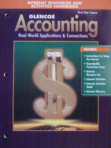 Accounting 1st-Year Course 5e Internet Resources (P)