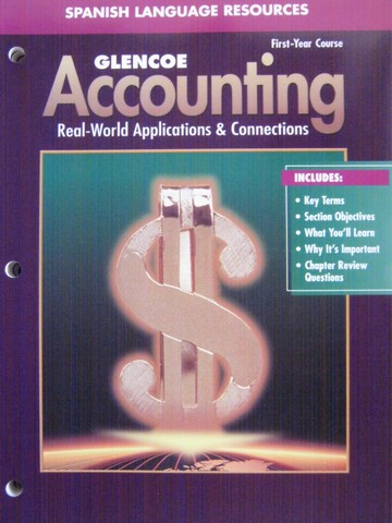 Accounting 1st-Year Course 5e Spanish Resources (P)