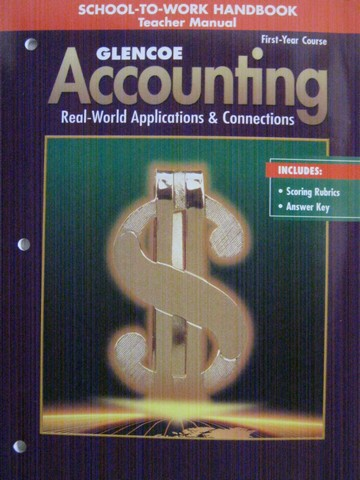 Accounting 1st-Year Course 5e School-to-Work Handbook TM (P)