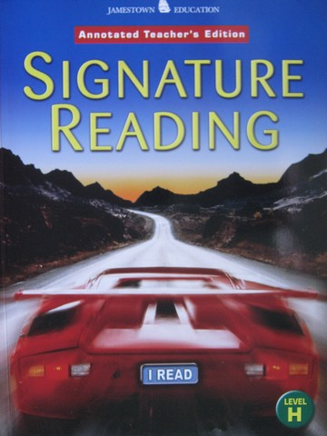 Signature Reading Level H ATE (TE)(P) - Click Image to Close