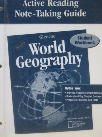 World Geography Active Reading Note-Taking Guide (P) by Fisher