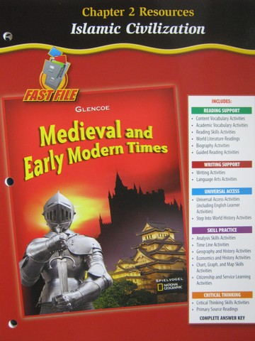 Medieval & Early Modern Times Chapter 2 Resources (P)