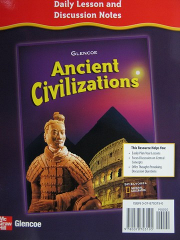 Ancient Civilizations Daily Lesson & Discussion Notes (Spiral)