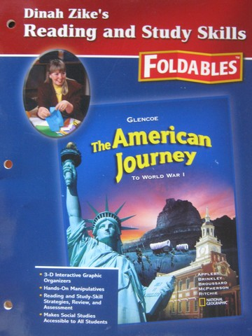 American Journey Dinah Zike's Reading & Study Skills (P)