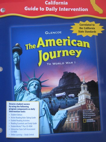 American Journey California Guide to Daily Intervention (CA)(P)