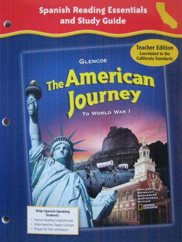 American Journey Spanish Reading Essentials & Study Guide TE (P)
