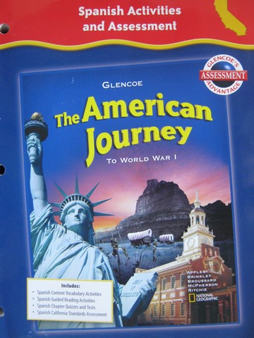 American Journey Spanish Activities & Assessment (CA)(P) - Click Image to Close