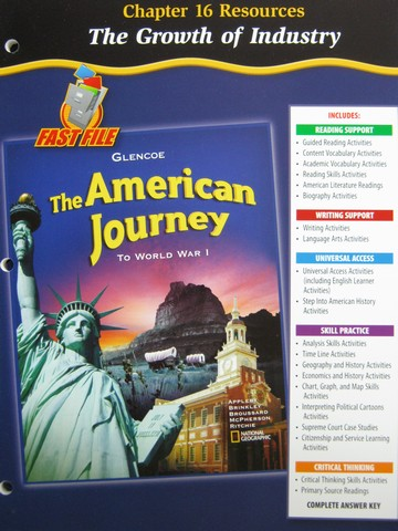 American Journey To World War 1 Chapter 16 Resources (P)