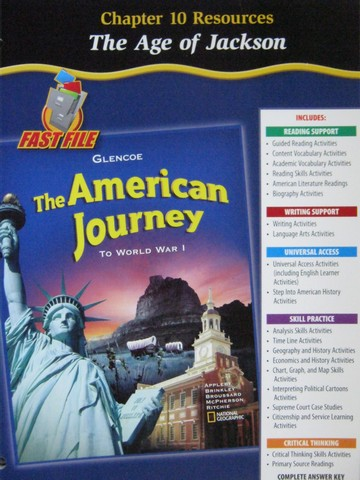 American Journey To World War 1 Chapter 10 Resources (P)