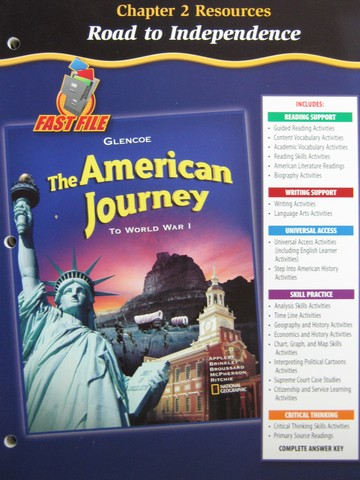 American Journey To World War 1 Chapter 2 Resources (P)