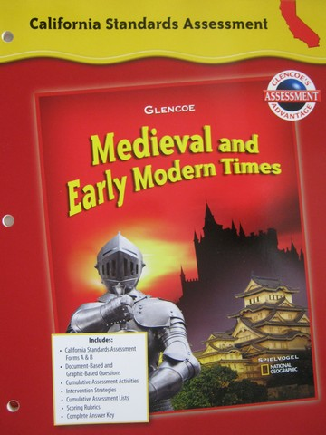 Medieval & Early Modern Times Standards Assessment (CA)(P)